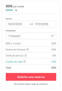 descuento airbnb primera reserva